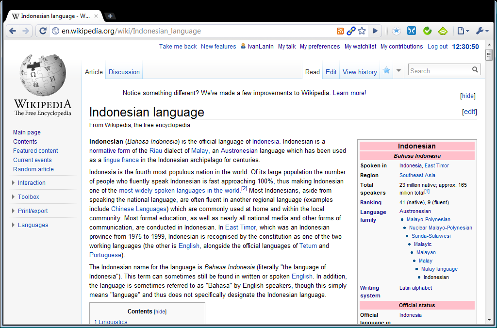 wikipedia bahasa indonesia